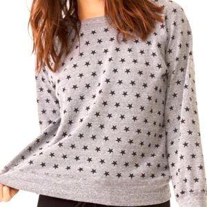 Monrow sz lg gray sweatshirt w ⭐️